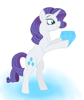 MLP Art Challenge Day 4: Rarity by Spyro-For-Life