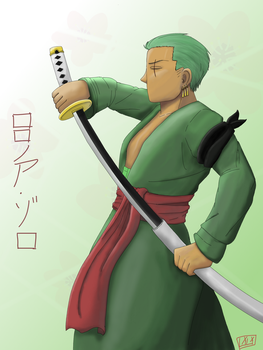 Zoro Bday 2017 by ifreakinglovegames