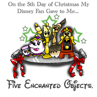 12 Disney Days of Christmas: 5 by caleigh