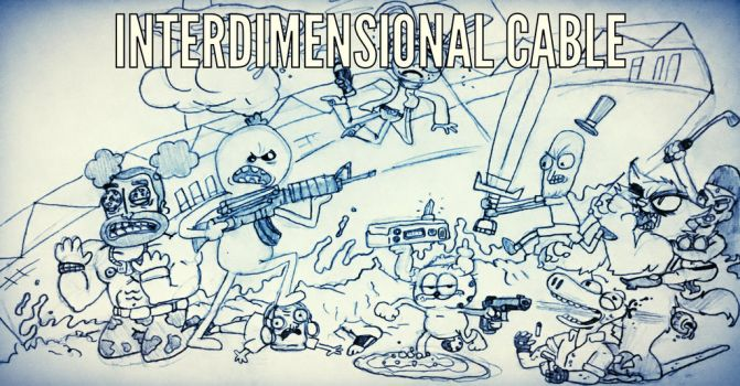 Interdimensional Cable by CatDogHeffer