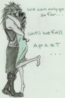F F 7 - Zack x Aerith oo1 by roolph