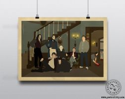What We Do In The Shadows (WWDITS) Minimalist by Posteritty