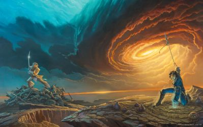 'Words of Radiance' book cover art (revised) by ArcangHell