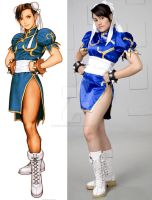 CHUN LI - COSPLAY 13 by Arual-Ebiru-Secrag