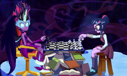 Mind Games by H-StallionWolf