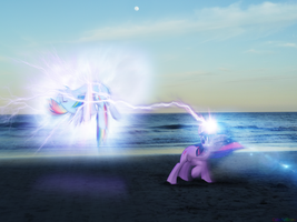 Fighting is Magic: Blitzkrieg [PIRL] by colorfulBrony
