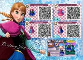 Frozen Anna dress (Now with cape!) by Rasberry-Jam-Heaven