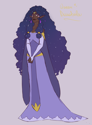 Allura's Mother Redesign by pixie-rings