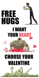 Valentine Z Cards by Babouille