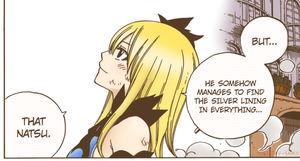 Lucy Heartfilia colored by theejay-sama