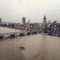 London Rain by vehemently-austere