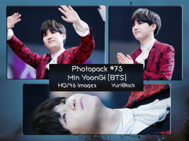 Photopack #75 - Min YoonGi [Suga of BTS] by YuriBlack