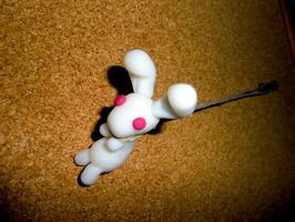 Rabbit Doubt Strap by Deathchaser