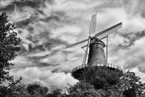 De Valk Windmill museum by BusterBrownBB