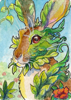 ACEO: Verdant by The-Hare