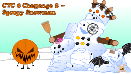 CTC S6 Challenge 3 - Spoopy Snowman by AwesomecatmanDA
