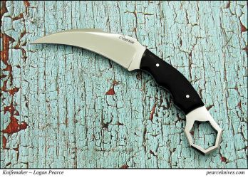 2013 Pearce Karambit Knife by Logan-Pearce
