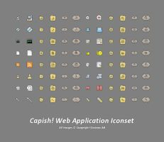 Capish Web Application Iconset by AJUST