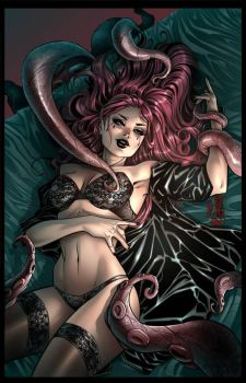 Grimm Fairy Tales - TALES OF TERROR #6 cover A by Yleniadn86