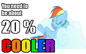 20 Percent Cooler shirt design by thechosenone12