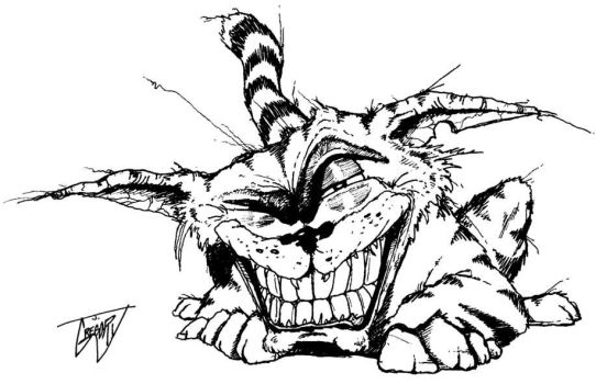 Cheshire Cat by driver16