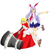[Request] Wendy and Reisen by kumaokaa-san