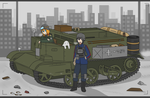 Two Girls And A Universal Carrier by Yukiumi-chan