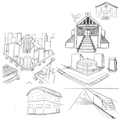 8.17.17 Background Sketches 2 by shadowlord19
