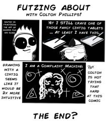 First comic book thing made with my pen tablet by coltonphillips