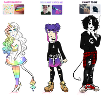 Aesthetic adopts: CLOSED by sariasong64