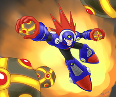 Blast Man by NagiSpider