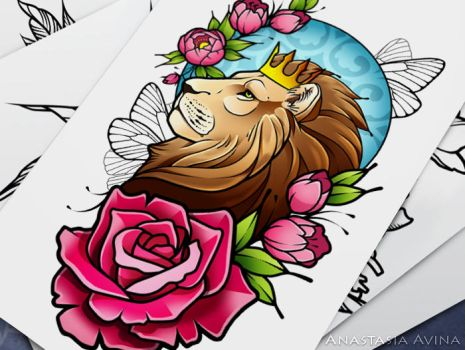Lion by quidames