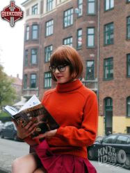 Born with a mystery book in hand by Rinaca-Cosplay
