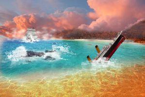 A broken ship had happened by strategischwelt