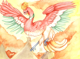 Ho-oh by Luscielle