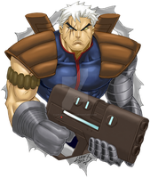 Cable COLORED 2012 by LucasAckerman