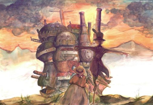 Howl's Moving Castle by taleism
