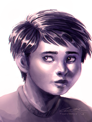 Portait Of A Child by TigerToony