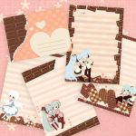 Letter Set Valentine's Day by Seirei-chan