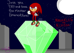 Guardian of the Master Emerald by mihane100