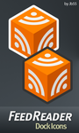 Feedreader Dock Icons by jb55