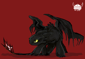 Toothless by Dreamsoffools