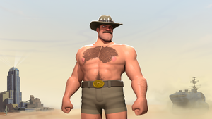 Saxton Hale by maxxy1996