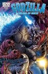 Godzilla Rulers of Earth #25 cover by KaijuSamurai