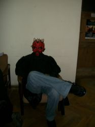 Sitting Maul by Qymaen