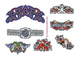 celtic sheet 42 by agaricgreywolf