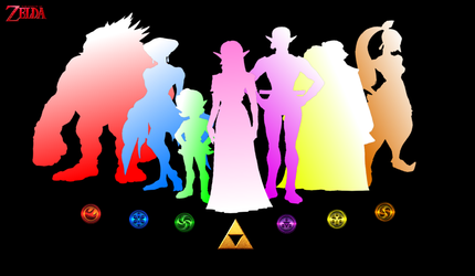 The Seven Sages (OoT) by Silent-N