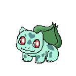 F2U Animated - Pokemon: Bulbasaur Pixel Art by Revy-oli