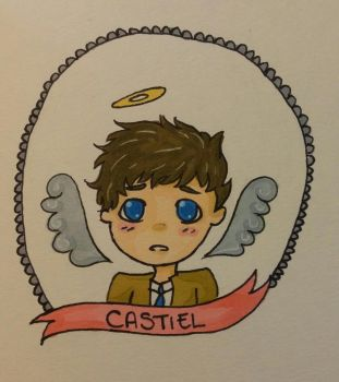 Little Castiel by intr00verted