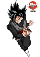 Black Goku by DarckLp